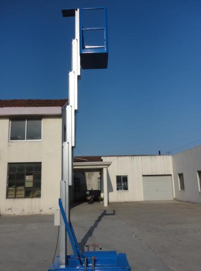 单桅柱式升降机